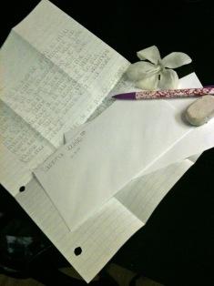 encouragement letters
